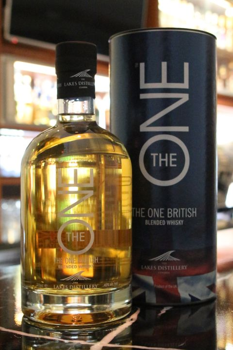 The One British Blended Lakes Distillery 雷克斯 英國大湖 調和威士忌 (40% 30ml)