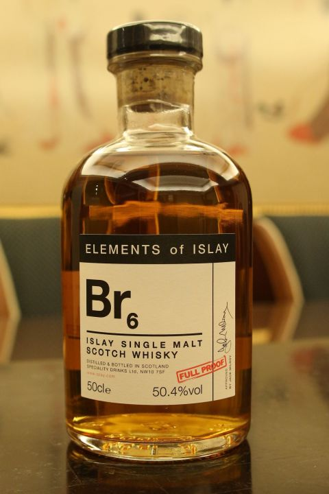 Elements of Islay Br6 (Bruichladdich) 艾雷元素-Br6 布萊迪 (50.4% 30ml)
