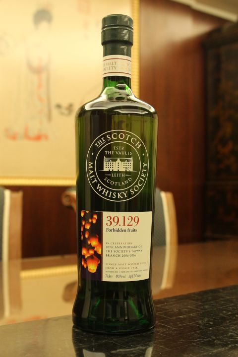 SMWS 39.129 Linkwood 26yr 2nd Fill Toasted Oak 林肯伍德 26年 台灣限定版 (49.8% 30ml)