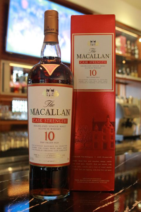 Macallan 10yr Sherry Cask Strength 麥卡倫 10年 雪莉桶原酒 (58.1% 30ml)