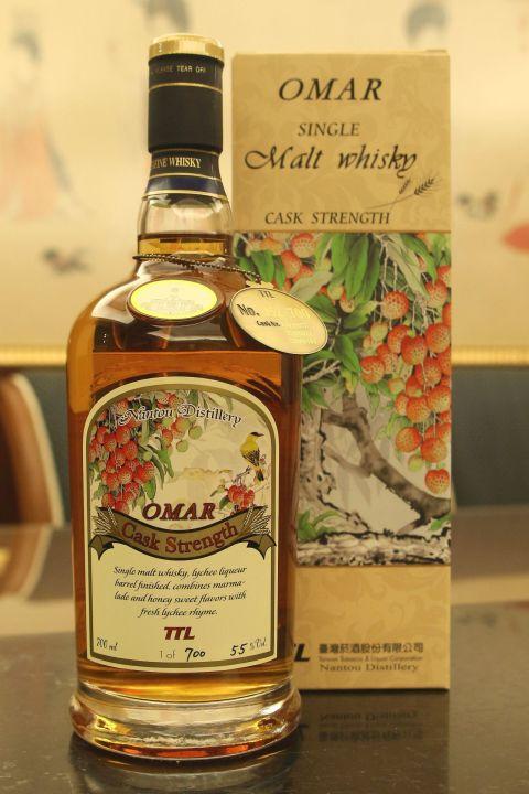 TTL Nantou Omar Lychee Liqueur Barrel Finished 臺灣菸酒 荔枝風味桶 限量原酒 (55% 30ml)