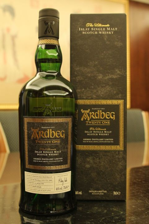 Ardbeg 21yr Ex-Bourbon Cask 雅柏 21年 波本桶 (46% 30ml)