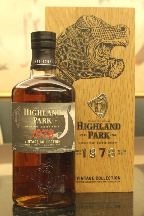 Highland Park 1978-2011 高原騎士 33年 (47.8% 30ml)