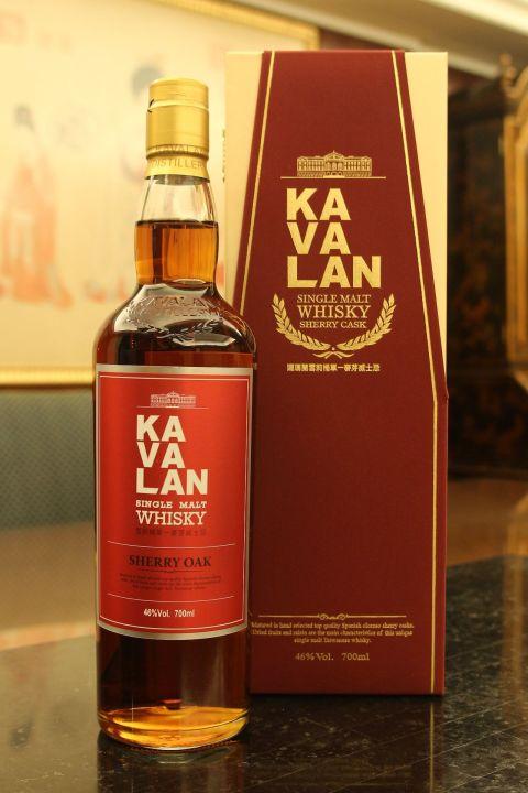 Kavalan Oloroso Sherry Oak 噶瑪蘭 雪莉桶 單一麥芽威士忌 (46% 30ml)
