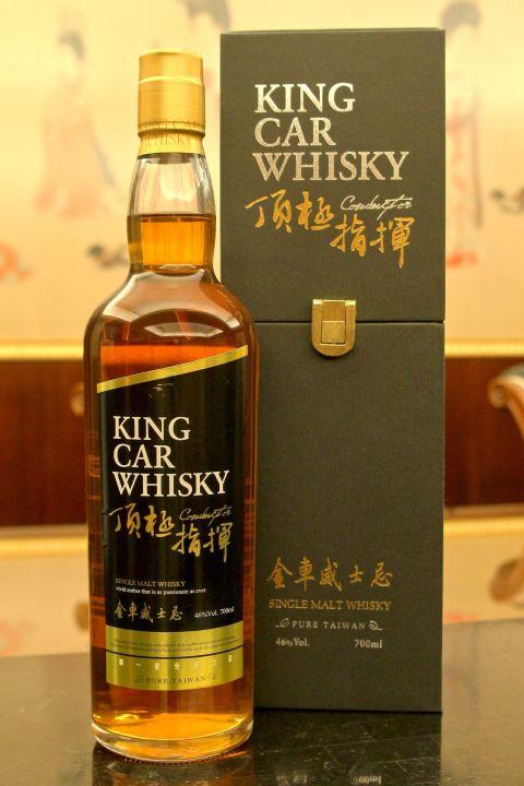 King Car Conductor Single Malt Whisky 金車 頂級指揮 單一麥芽威士忌 (46% 30ml)