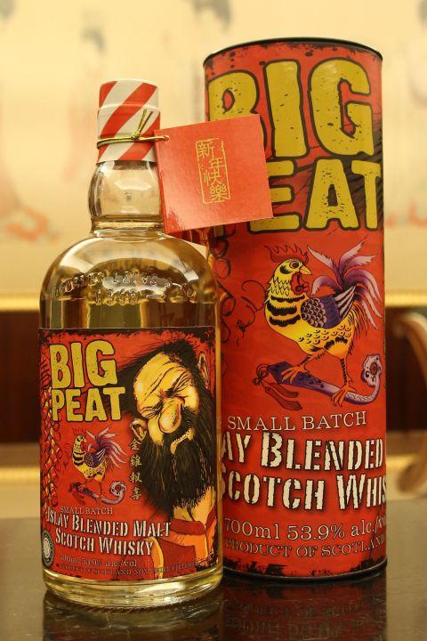 Douglas Laing's Big Peat New Year Taiwan Limited Edition 道格拉斯蘭恩 泥煤哥 金雞賀年 (53.9% 30ml)