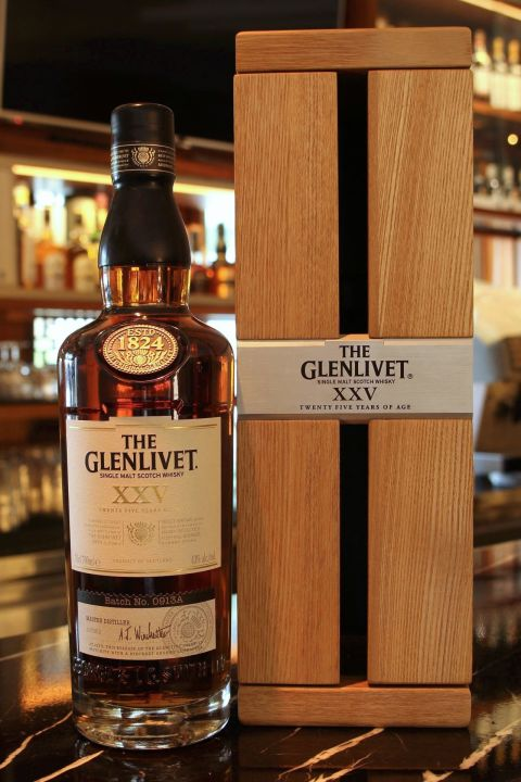 Glenlivet XXV 25yr First Fill Oloroso Sherry Casks 格蘭利威 25年 雪莉處女桶 (43% 30ml)