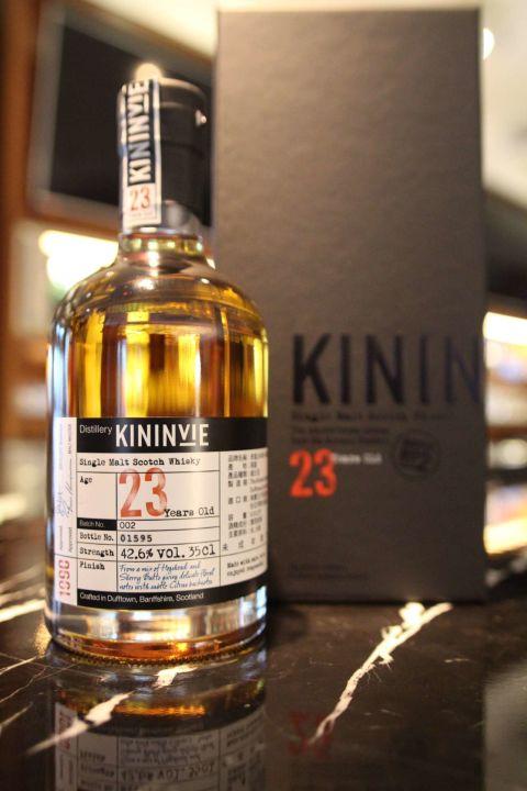 KININVIE 23yr Batch No.2 奇富 23年 第二版 (42.6% 30ml)
