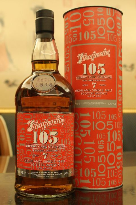 Glenfarclas 7yr 105 Sherry Cask Strength 格蘭花格7年 105 雪莉桶原酒 (60% 30ml)