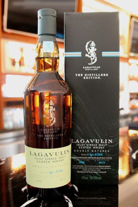 Lagavulin 1999~2015 Double Matured 拉加維林 雙桶 酒廠限定版 (43% 30ml)