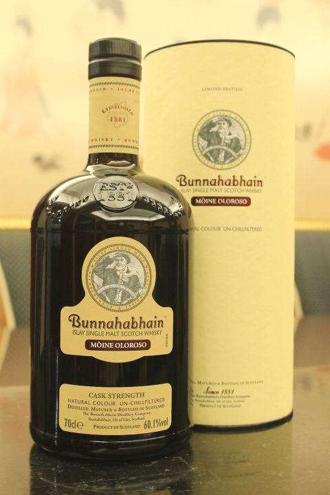 Bunnahabhain Mòine Oloroso Cask Strength 布納哈本 煙花水霧特別版 雪莉桶原酒 (60.1% 30ml)
