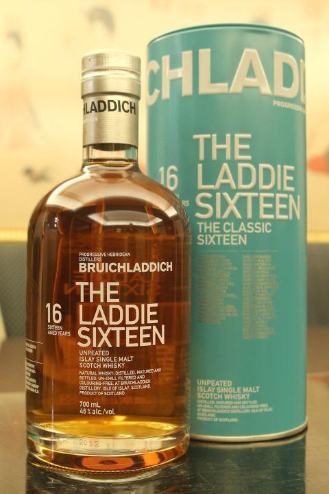 Bruichladdich 16yr The Laddie Unpeated  布萊迪 萊迪16年 無泥煤 (46% 30ml)
