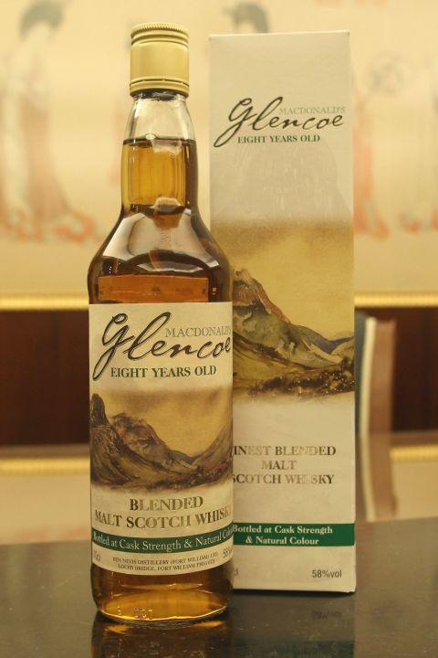 Ben Nevis 8yr Mcdonald's Glencoe Cask Strength 班尼富 8年 格倫柯紀念版 原酒調和 (58% 30ml)