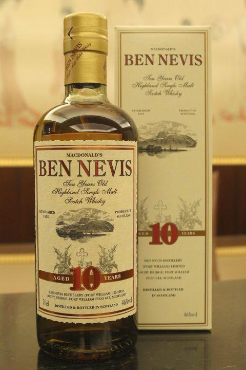 Ben Nevis 10yr Mcdonald's Single Malt 班尼富 10年 單一純麥 余市瓶 (46% 30ml)