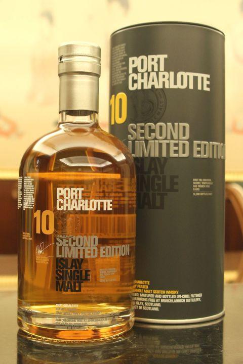 Bruichladdich 10yr Port Charlotte Heavily Peated Second L/E布萊迪 波夏10年 重泥煤二版 (50% 30ml)