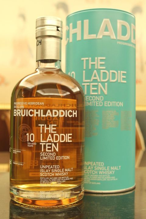 Bruichladdich 10yr The Laddie Unpeated Second L/E 布萊迪 萊迪10年 無泥煤二版 (50% 30ml)