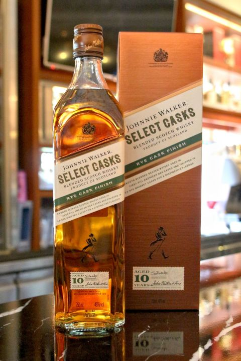 Johnnie Walker 10yr Select Casks - Rye Cask Finish 約翰走路 10年 波本裸麥雙桶 (46% 30ml)