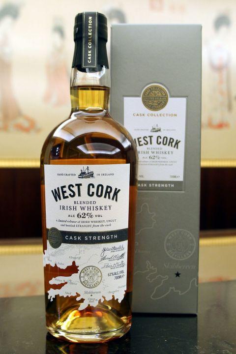 WEST CORK Cask Strength Blended  威斯克 限量調和原酒 (62% 30ml)