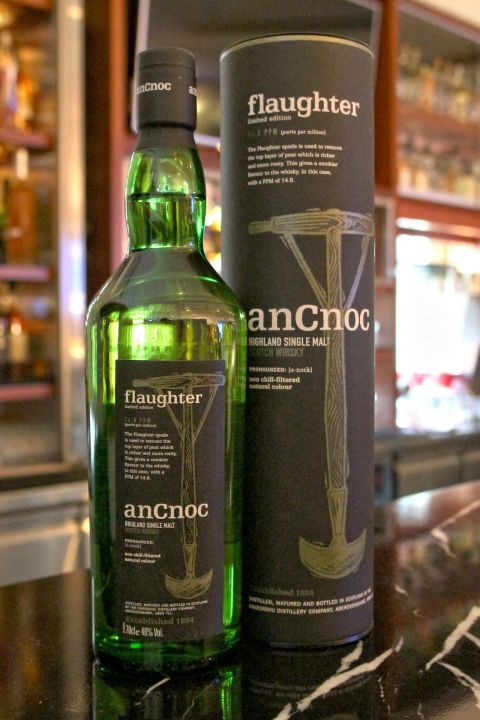 AnCnoc Flaughter Limited Edition 14.8PPM 安努克 Flaughter 泥煤限量版 (46% 30ml)