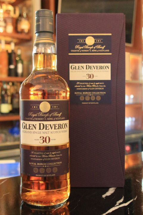 Glen Deveron 30yr single malt whisky 格蘭戴伯朗 30年 (30ml 40%)