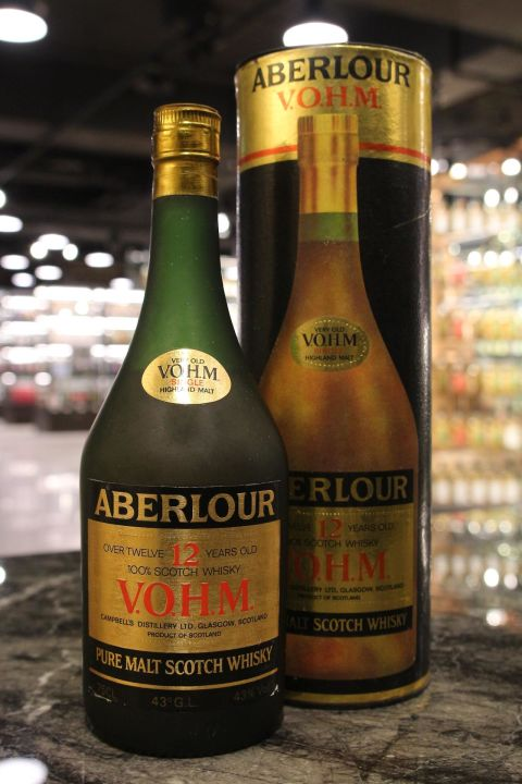 Aberlour 12yr - V.O.H.M. Highland Pure Malt 亞伯樂 12年 V.O.H.M. (30ml 43%)