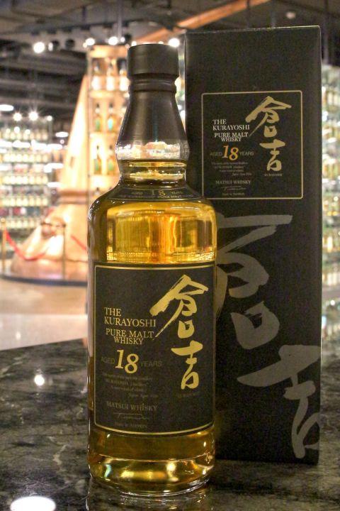 Kurayoshi 18yr Japanese Pure Malt 倉吉 18年 純麥威士忌 (50% 30ml)