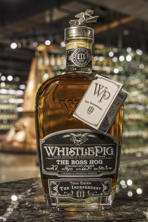 WhistlePig 14yr Boss Hog Straight Rye 口哨豬 14年 主人桶單桶裸麥 (60.2% 30ml)