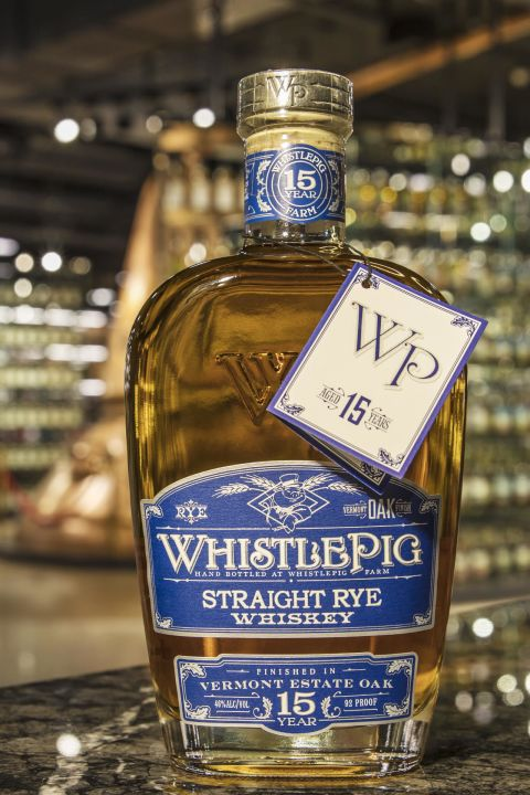 WhistlePig 15yr Vermont Estate Oak Finish Rye 口哨豬 15年 佛蒙特州桶 裸麥 (46% 30ml)