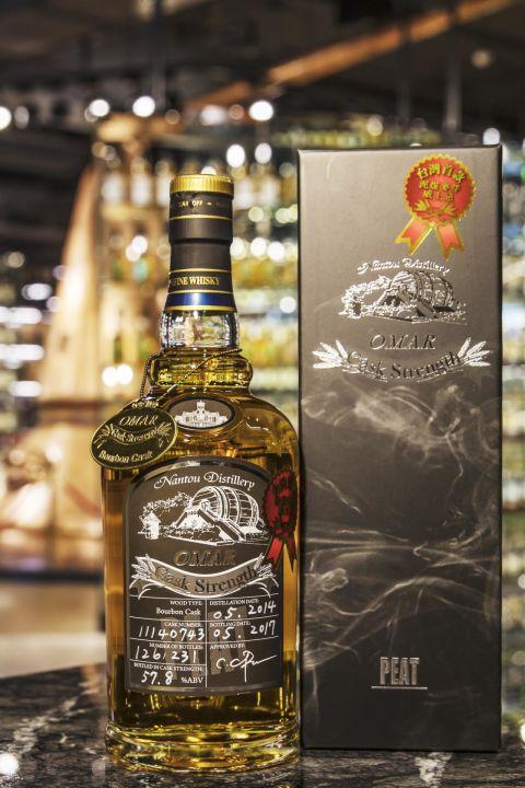 TTL OMAR Bourbon Cask Peated Malt 臺灣菸酒 波本單桶 泥煤麥芽原酒 (57.8~58% 30ml)