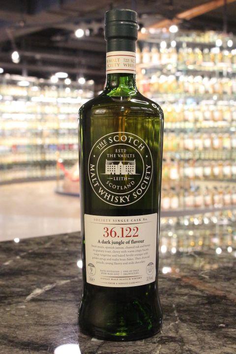 SMWS 36.122 Benrinnes 9yr 1st Fill Butt Oloroso Cask 班蕊斯 9年 雪莉桶原酒 (58.1% 30ml)