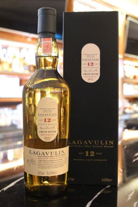 Lagavulin 12yr 2012 Natural Cask Strength 拉加維林12年原酒 (56.1% 30ml)