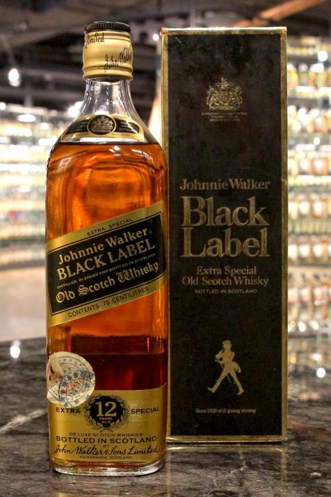 Johnnie Walker 12yr Black Label Extra Special Limited 約翰走路 12年 老黑牌 (43% 30ml)