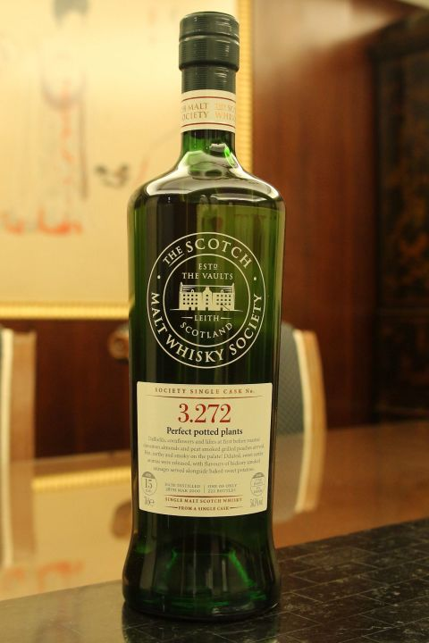 SMWS 3.272 Bowmore 15yr EX Bourbon 波摩 15年 波本桶原酒 (54.5% 30ml)