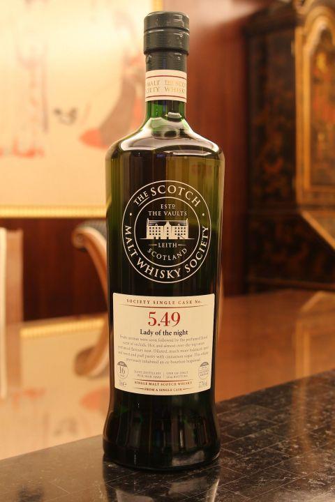 SMWS 5.49 Auchentoshan 16yr 2nd Fill Sauternes 歐肯特宣 16年 蘇玳桶原酒 (57.7% 30ml)