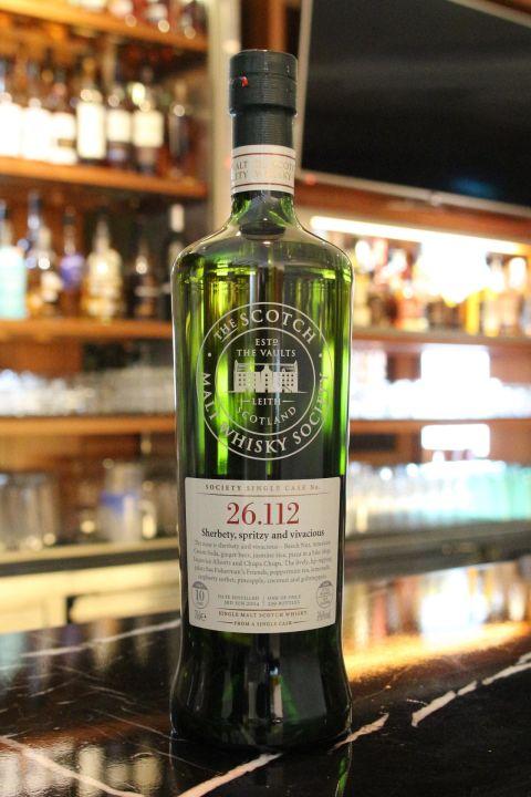 SMWS 26.112 Clynelish 10yr EX Bourbon 克萊力士 10年 波本桶原酒 (59.6% 30ml)