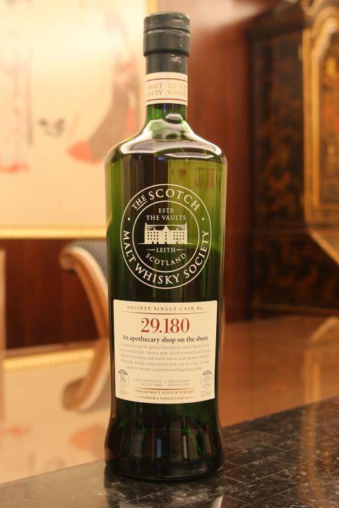SMWS 29.180 Laphroaig 16yr EX Bourbon 拉佛格 16年 波本桶原酒 (52.3% 30ml)