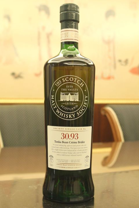 SMWS 30.93 Glenrothes 19yr Sherry Gorda 格蘭路思 19年 雪莉桶原酒 (59.1% 30ml)