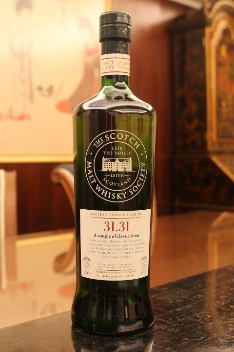 SMWS 31.31 Jura 26yr EX Bourbon Cask 吉拉 26年 波本桶原酒 (55.8% 30ml)