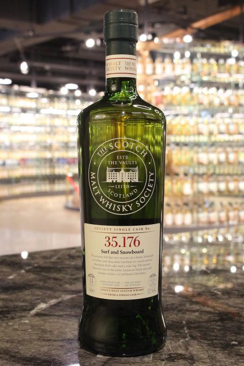 SMWS 35.176 Glen Moray 14yr EX Bourbon 格蘭莫雷 14年 波本桶原酒 (57.1% 30ml)