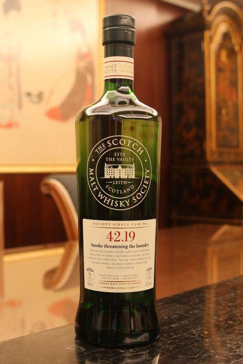 SMWS 42.19 Tobermory 9yr EX Bourbon Cask 托本墨瑞 9年 波本桶原酒 (58.2% 30ml)