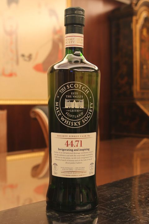 SMWS 44.71 Craigellachie 11yr EX Bourbon 魁列奇 11年 波本桶原酒 (58.3% 30ml)