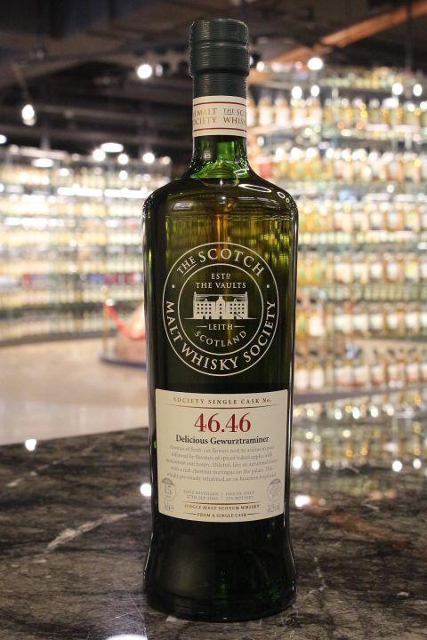 SMWS 46.46 Glenlossie 15yr Oloroso Butt 格蘭洛希 15年 雪莉桶原酒 (58.2% 30ml)