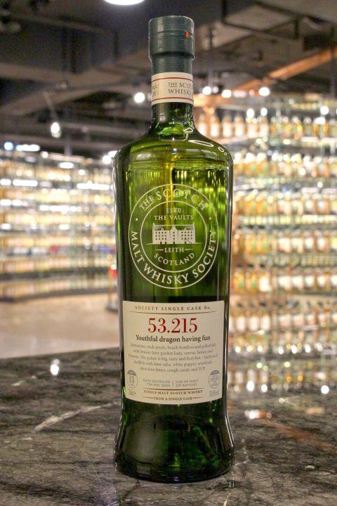 SMWS 53.215 Caol Ila 13yr Bourbon Cask 卡爾里拉 13年 波本桶原酒 (58.4% 30ml)