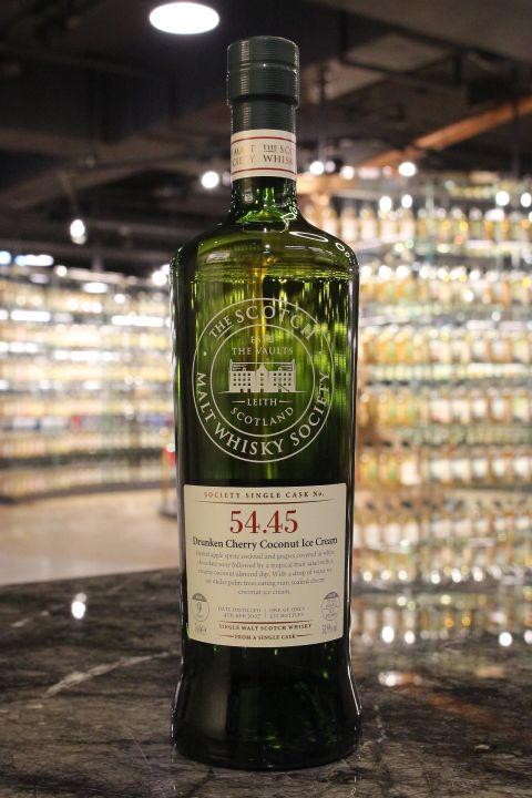 SMWS 54.45 Aberlour 9yr EX Bourbon Cask 亞伯樂 9年 波本桶原酒 (58.9% 30ml)