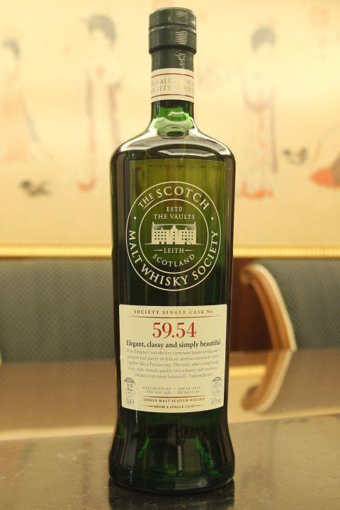 SMWS 59.54 Teaninich 32yr EX Bourbon 提安尼涅克 32年 波本桶原酒 (50.5% 30ml)
