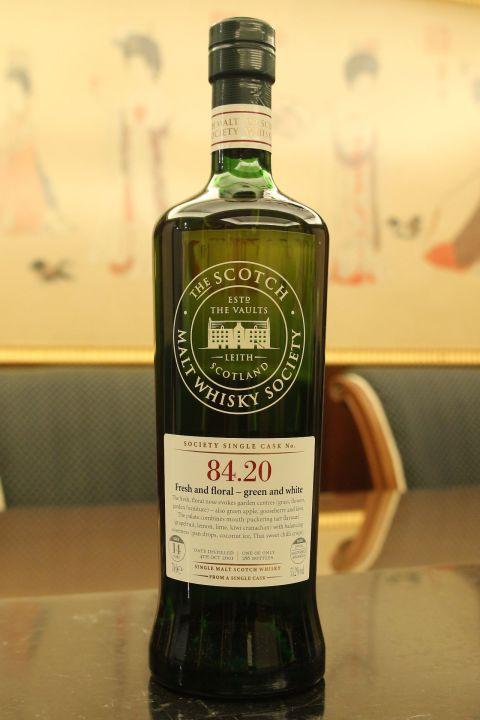 SMWS 84.20 Glendullan 14yr Sauternes Hogshead 格蘭杜蘭 14年 蘇玳桶原酒 (55.2% 30ml)