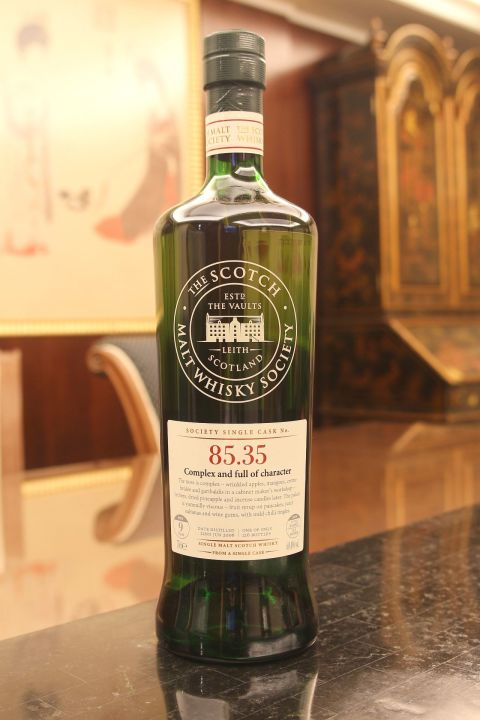 SMWS 85.35 Glen Elgin 9yr EX Bourbon 格蘭愛琴 9年 波本桶原酒 (60.4% 30ml)