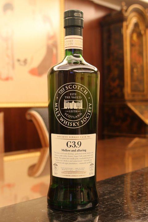SMWS G3.9 Caledonian 36yr EX Bourbon 喀里多尼亞 36年 波本桶原酒 (46.5%  30ml)