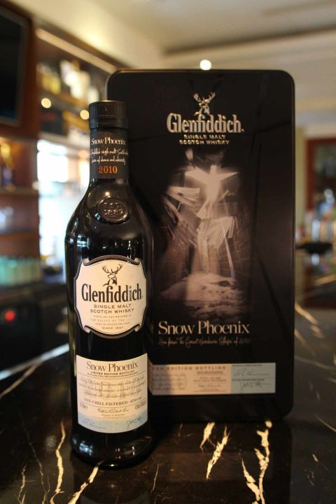 Glenfiddich Snow Phoenix Limited Edition  格蘭菲迪 雪鳳凰 (47.6% 30ml)