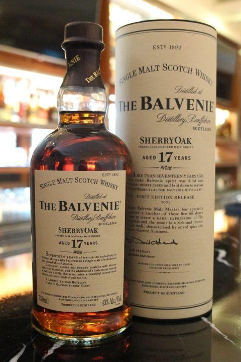 Balvenie 17yr Sherry Oak 百富17年 雪莉桶 (43% 30ml)